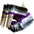 Asexual Pride Flag Toothpicks Pkt 50 Ace Pride