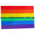 Rainbow Flag Holographic Magnet Gay Lesbian  Pride