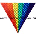 Fan Rainbow Sticker Holographic Adhesive Lesbian Gay Pride