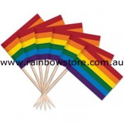 Rainbow Flag Toothpicks