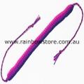Bisexual Stripe Woven Friendship Bracelet Bi Pride