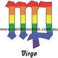 Rainbow Virgo Zodiac Ceramic Mug Gay Lesbian Pride