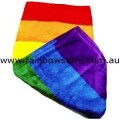 Rainbow Beach Pool Towel Lesbian Gay Pride