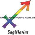 Rainbow Sagittarius Zodiac Ceramic Mug Gay Lesbian Pride