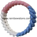 Transgender Silicone Connected Chain Links Wrist Band Trans Pride Wristband