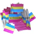Pansexual Pride Flag Toothpicks Pkt 50 Pan Pride