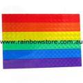 Rainbow Flag Sticker Holographic Adhesive Gay Lesbian Pride