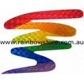 Squiggle Rainbow Sticker Holographic Adhesive Lesbian Gay Pride