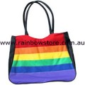 Rainbow Polyester Carry Bag Lesbian Gay Pride