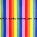 Rainbow Bandanna Multi Stripes Bandana Gay Lesbian Pride