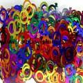 Rainbow Confetti Lesbian Wedding Symbols Lesbian Pride