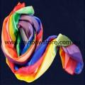 Multi Rainbow Lightweight Decorative Scarf Lesbian Gay Pride