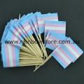 Transgender Pride Flag Toothpicks Pkt 50 Trans Pride