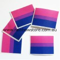Bisexual Flag Temporary Tattoo Pkt 5 Bi Pride