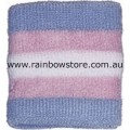 Transgender Sweat Terry Towelling Stretch Tennis Wrist Band Trans Pride