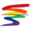 Squiggle Rainbow Sticker Adhesive Gay Lesbian Pride
