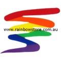 Squiggle Rainbow Sticker Adhesive Gay Lesbian Pride