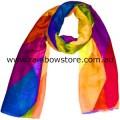 Rainbow Dazzle Pattern Fashion Scarf Lesbian Gay Pride