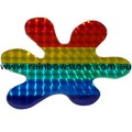 Rainbow Splash Sticker Holographic Adhesive Lesbian Gay Pride