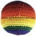 Rainbow Hacky Sack Footbag Gay Lesbian Pride