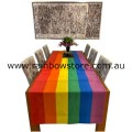 MATERIAL ONLY - Pride Rainbow Flag Polyester Fabric 94cm x 10 metres Gay Lesbian Pride