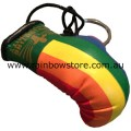 Rainbow Boxing Glove Key Chain Lesbian Gay Pride