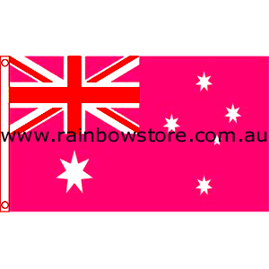 Deluxe Pink Flag