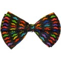Rainbow Moustache Bow Tie Lesbian Gay Pride