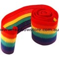 Rainbow Stripe Arm Hat Head Band Lesbian Gay Pride