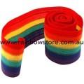 Copy of Gay Lesbian Rainbow Beanie Skull Multi Stripe Hat Lesbian Gay Pride
