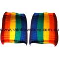 Rainbow Knee Pads Lesbian Gay Pride