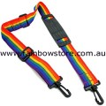 Rainbow Guitar Camera Gym Bag Strap Lesbian Gay Pride