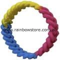 Pansexual Silicone Connected Chain Links Wrist Band Pan Pride Wristband