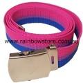 Bisexual Polyester Belt 121cm 48 inch Bi Pride