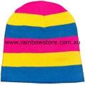Pansexual Knit Beanie Hat Pan Pride
